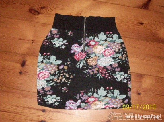 mini floral zip NY z wymiany