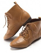 botki h and m carmel worker boots