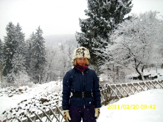 Kreacja zimowa narciarska...