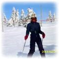 Kreacja zimowa narciarska