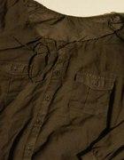 Bluzka ciemna zieleń khaki