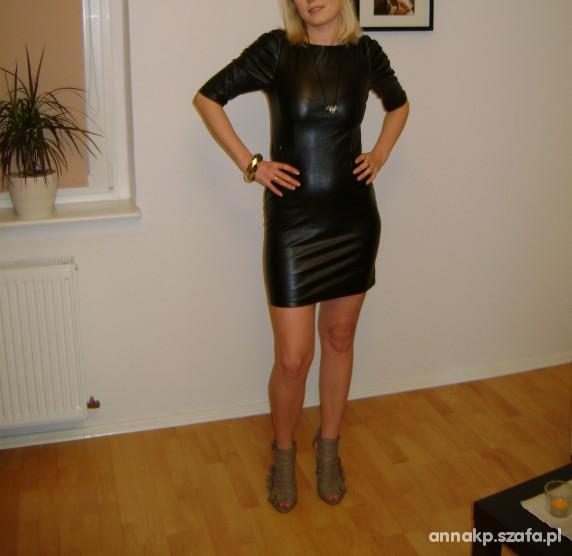 Wieczorowe Sukienka bufki