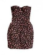 HiM COTTON ORGANIC sukienka w serca