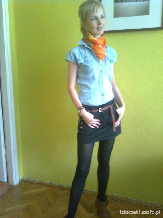 Mój styl Koszula jeansowa w roli głównej