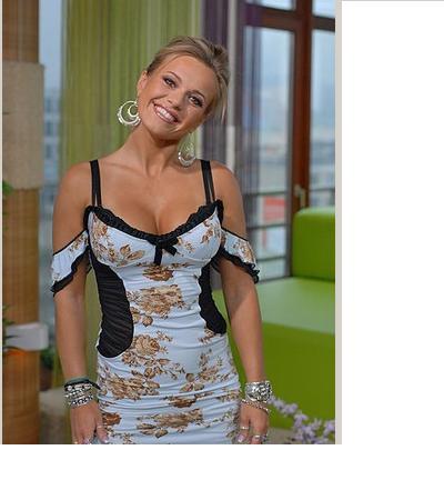 Romantyczne sukienka Dody
