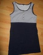 marynarska sukienka