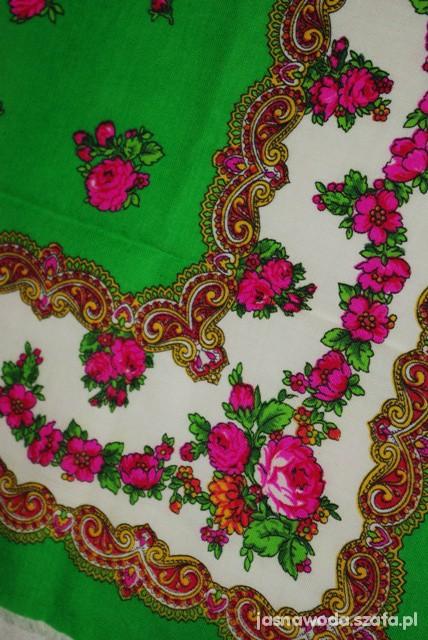 Chusty i apaszki piękna chusta floral