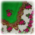 piękna chusta floral