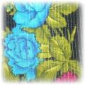 chusta folk etno kwiaty