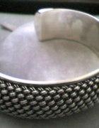 srebrna plecionka