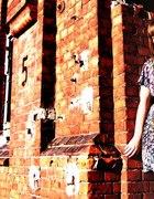 kolorowa sukienko tunika