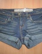 jeansowe jeans szorty 36 boyfriend