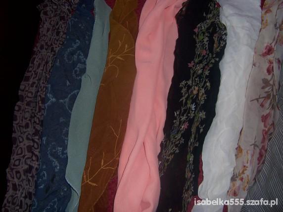 Chusty i apaszki apaszki różne kolory