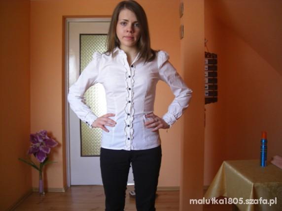 Eleganckie biało czarno elegancko