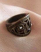 floral Vintage pierścionek