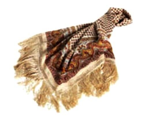 Chusty i apaszki HM Duza apaszka VINTAGE