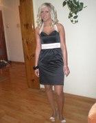 Sukienka którą miałam na swojej Studniówce