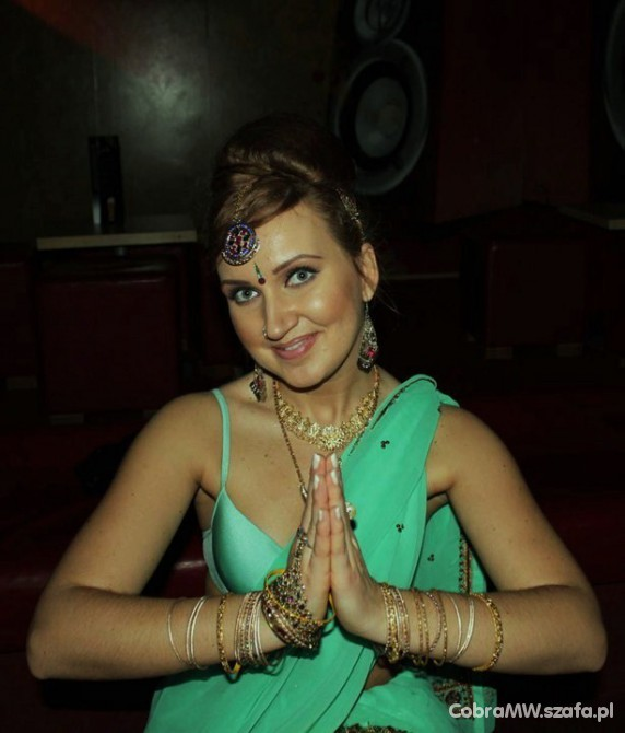 Mój styl Mietowe sari