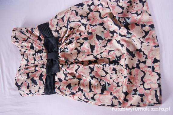 Suknie i sukienki Sukienka z kwiatowym rozmazanym wzorkiem