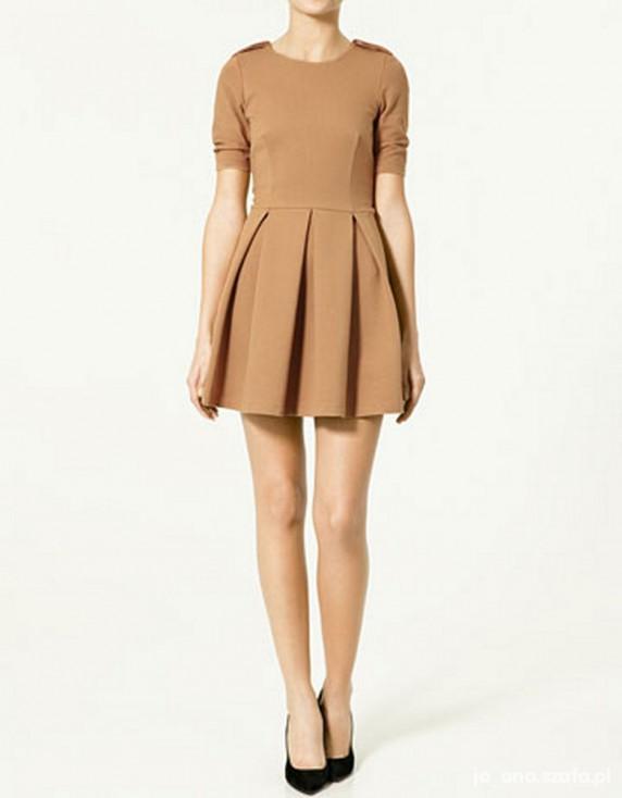 Mój styl Karmelowa Zara niebawem będzie moja