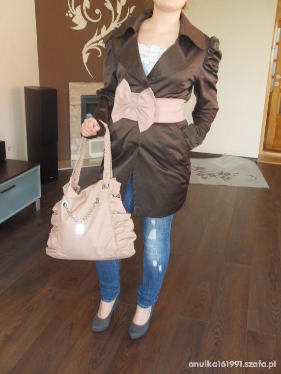 Eleganckie Burberry płaszczyk