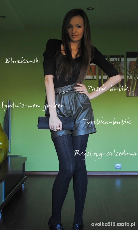 Mój styl Skórzane spodnie