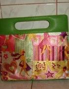 Wzorzysta torebka torba damska JAPAN STYLE MANGA