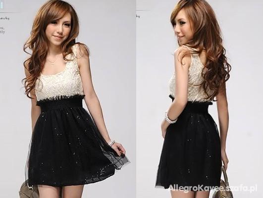 5d87411229 SEXY Urocza Sukienka z Cekinami Japan w Suknie i sukienki - Szafa.pl