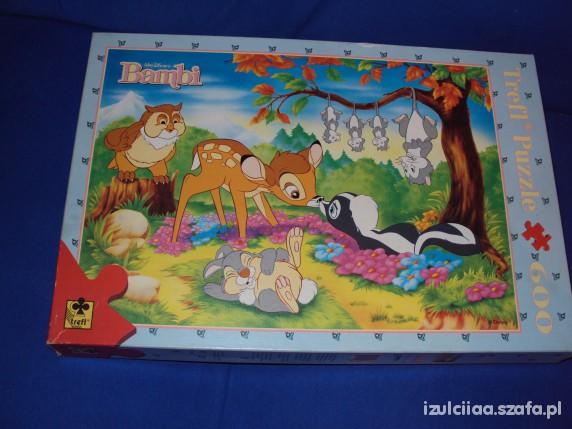 Zabawki 600 puzzli Bambi