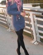 Navy sukienka