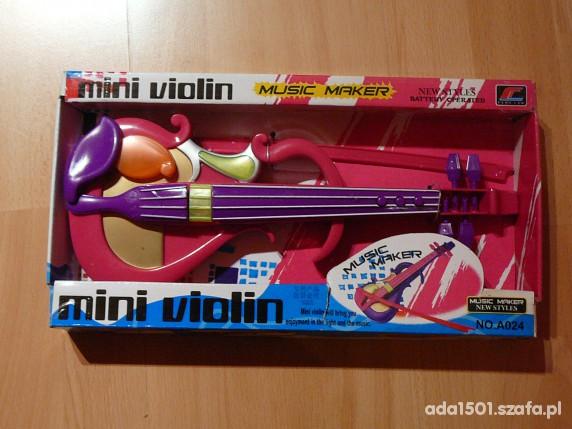 Zabawki Mini skrzypce