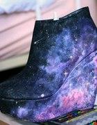 galaxy wedge heels
