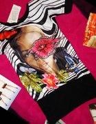 Tunika Kwiaty motyl MINI uniwersalna