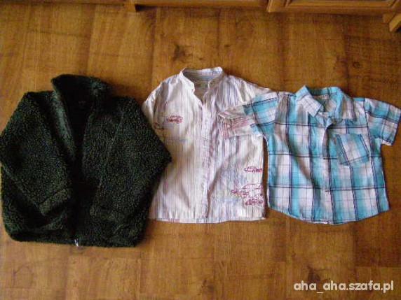 Komplety ubranka dla chłopca 3 4lat NEXT GAP RABELLE