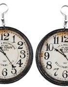 kolczyki zegary WIOSENNA PROMOCJA