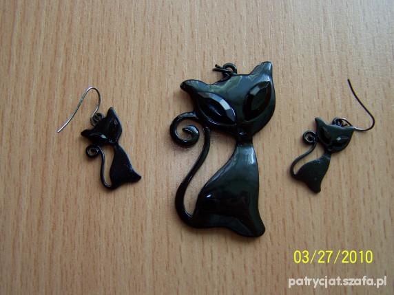 Komplet czarne koty