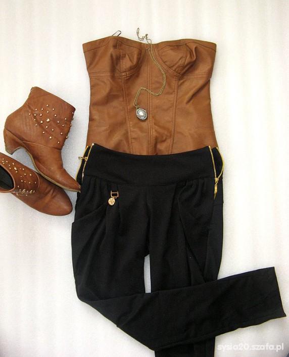 Mój styl Zestaw gorset i spodnie