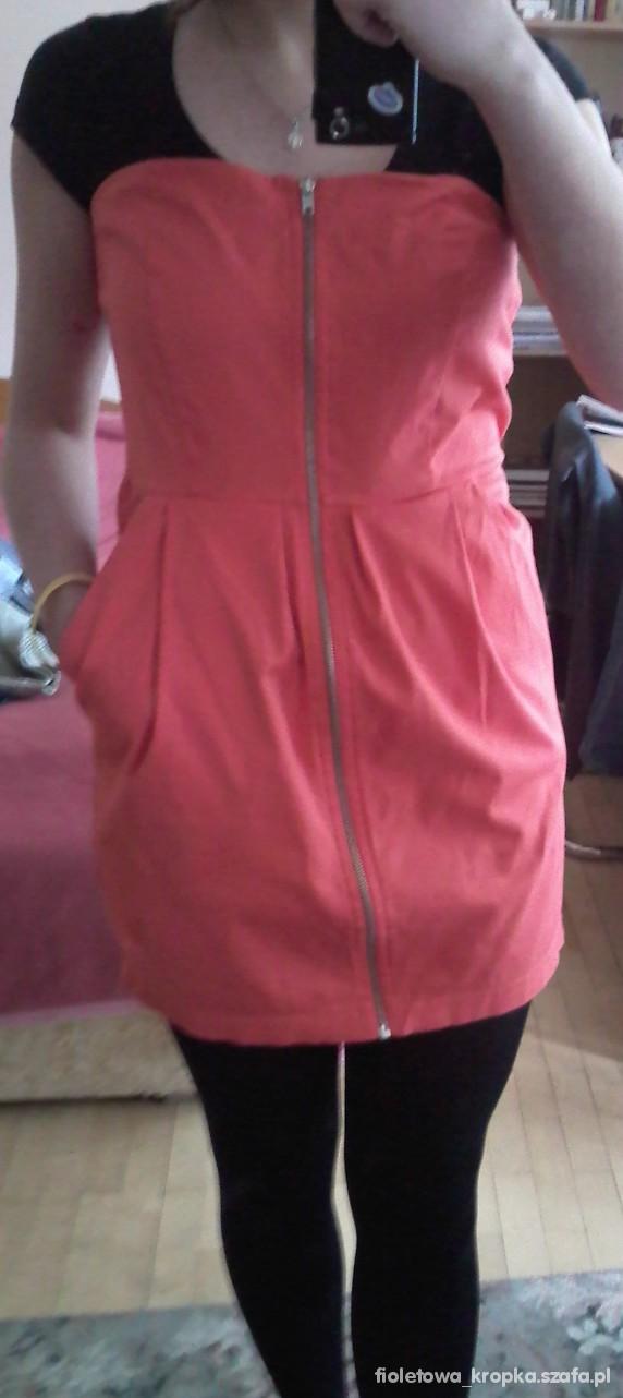 Imprezowe sukienka ZIP