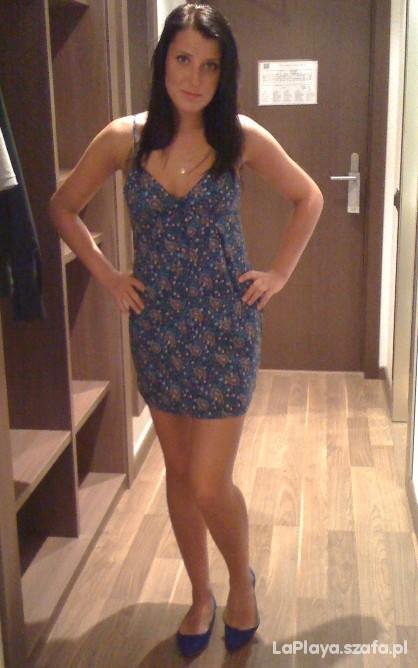 Romantyczne Pointed ballerina Zara i kwiecista sukienka Zara