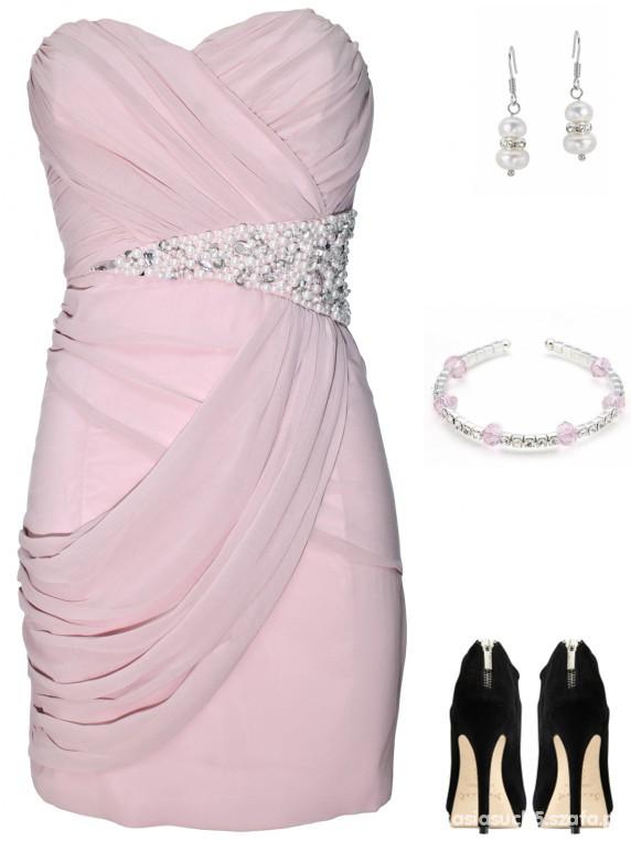 Wieczorowe sukienka szyfonowa 38 wesele