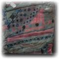 NOWA kolorowa CHUSTA z frędzelkami