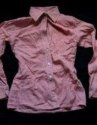 Koszula czerwono biała kratka rozmiar S