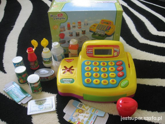 Zabawki kasa dla dzieci CASH REGISTER kasa dźwięki NOWA