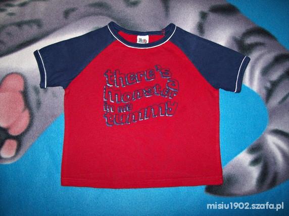 Koszulki, podkoszulki FAJNA BLUZECZKA Z APLIKACJĄ 86