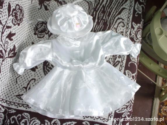 7f33ccc10c śliczna sukienka do chrztu dla dziewczynki w Sukienki i spódniczki ...