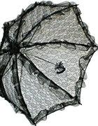 śliczna koronkowa parasolka