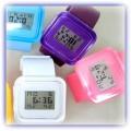 Z PRZESYLKA jelly zegarki LED japan styl MIX kolor