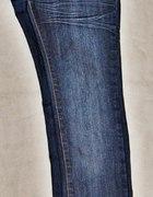 jeansy rurki XS