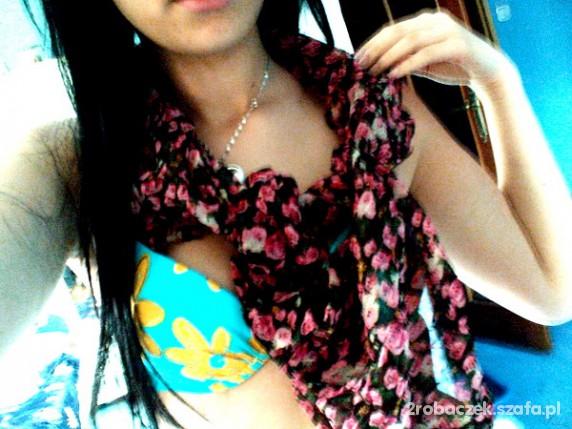 Chusty i apaszki Super apaszka chusta kwiatki