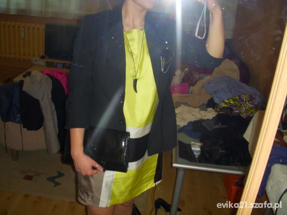 Eleganckie Sukienka mini jedwab Oasis